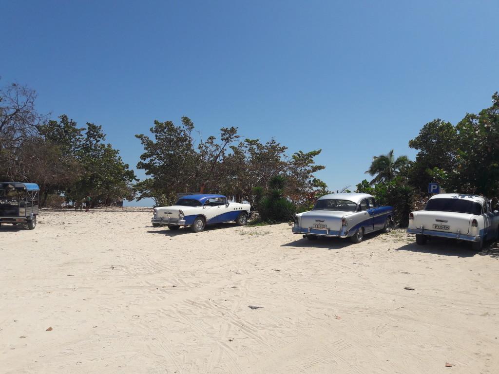 Strandparkplatz in Trinidad