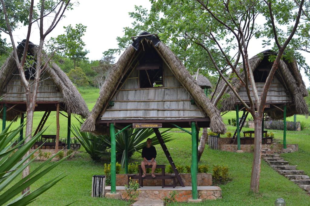 Unsere Hütte in Las Terrazas