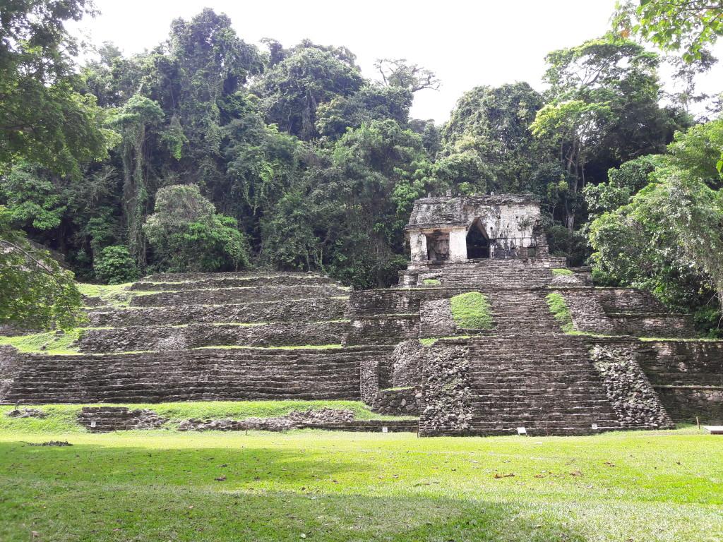 Mayastätte in Palenque