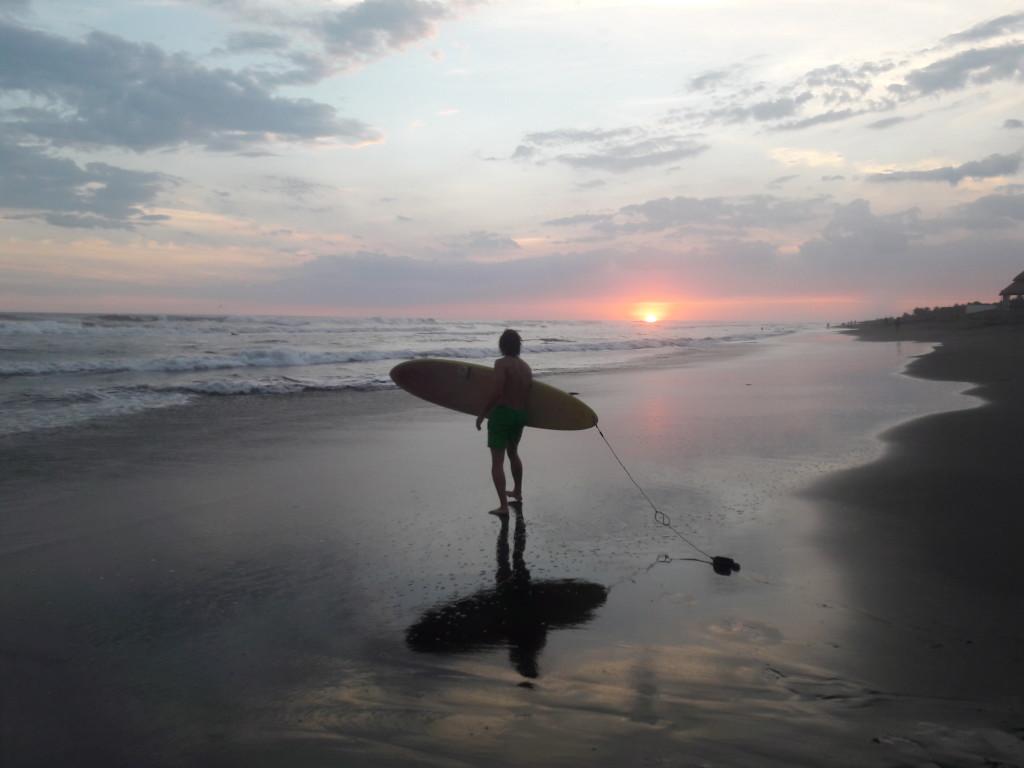 Surfen in El Paredon