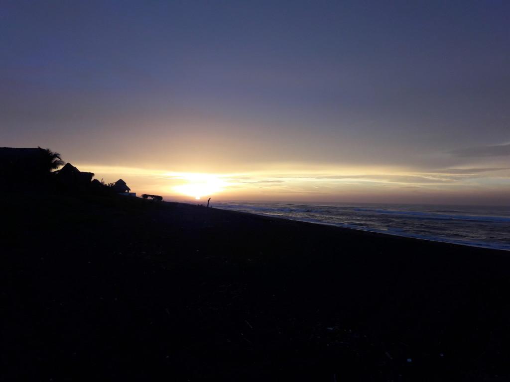 Sonnenaufgang in El Paredon