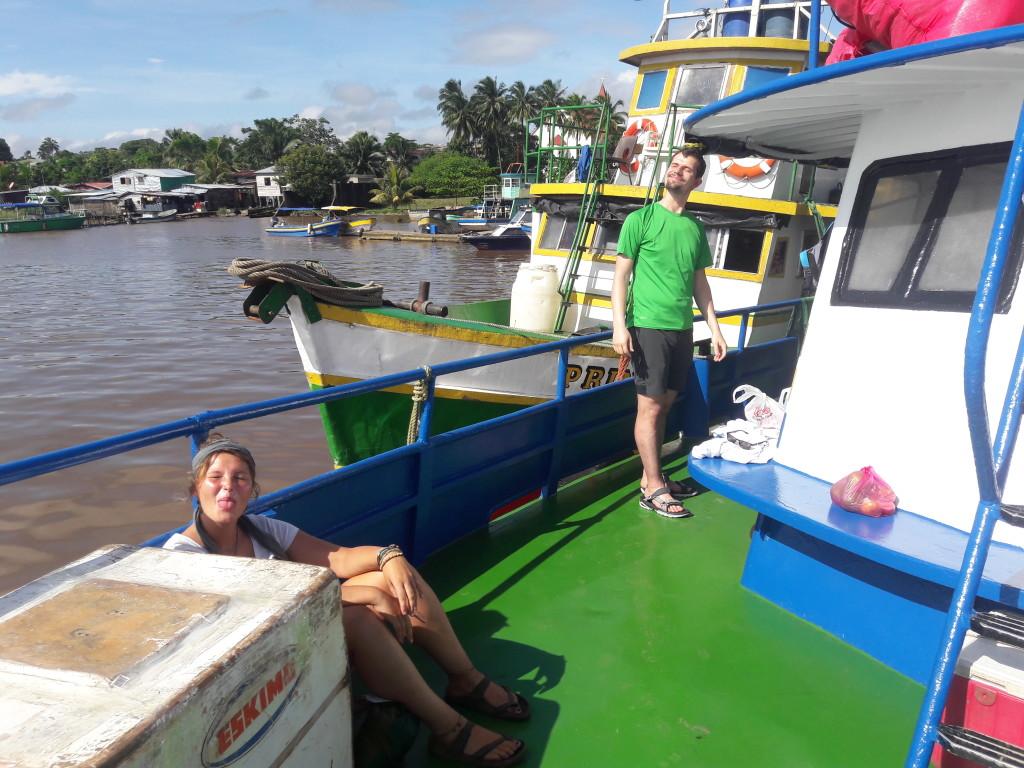 Schifffahrt nach Big Corn Island