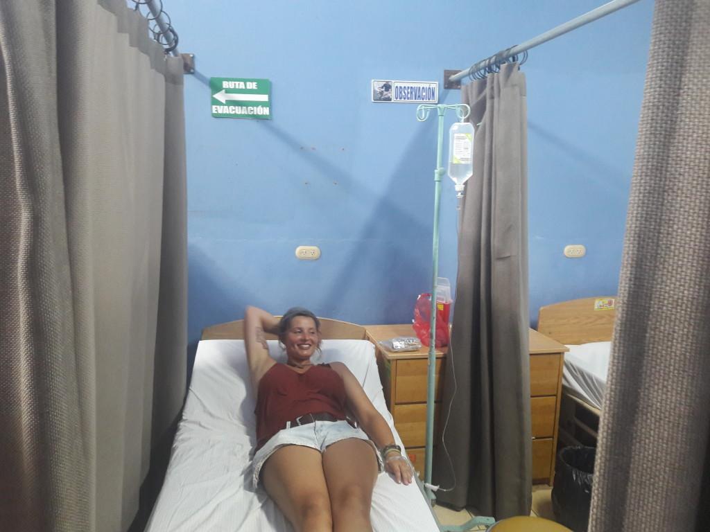 Birthe im Krankenhaus von Las Salinas