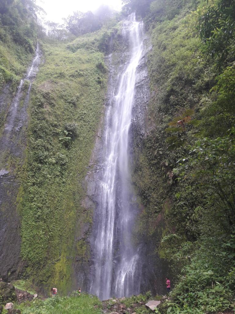 Nach 2 stündiger Wanderung - Erreichen des Wasserfalls
