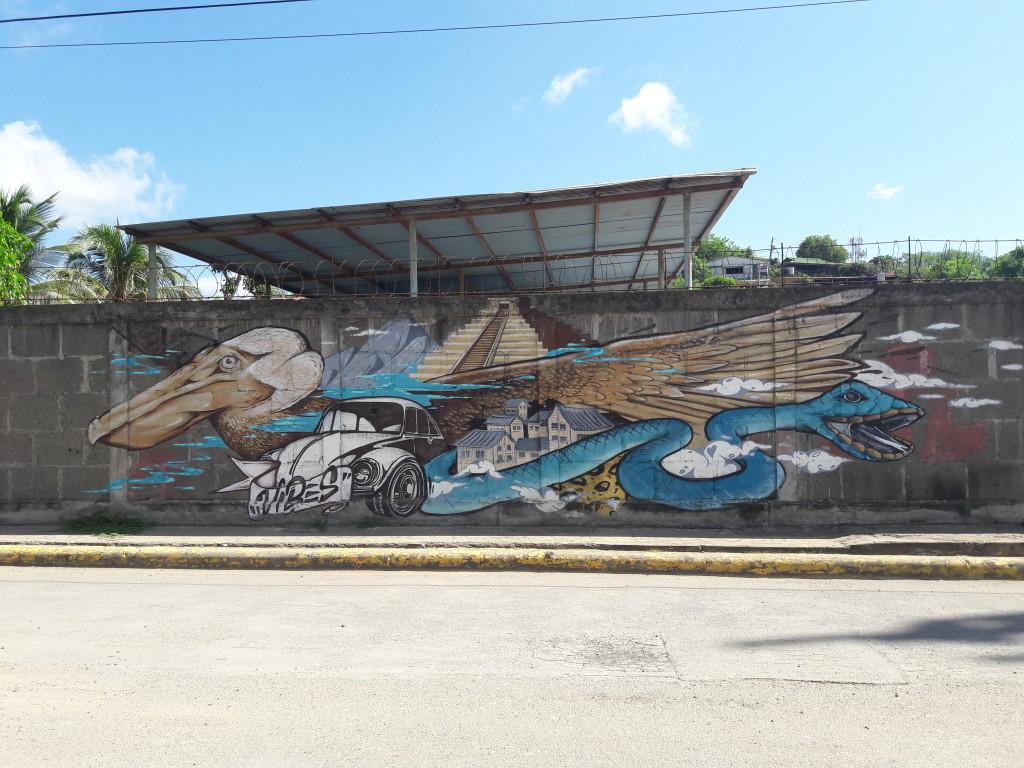 Graffiti in San Juan del Sur