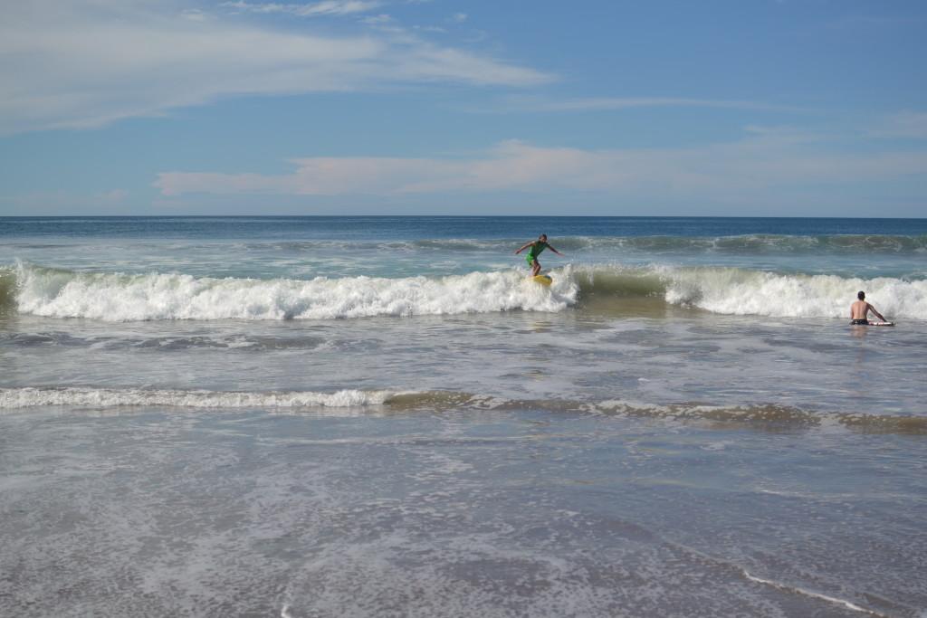 Endlich geschafft! Ich surfe!