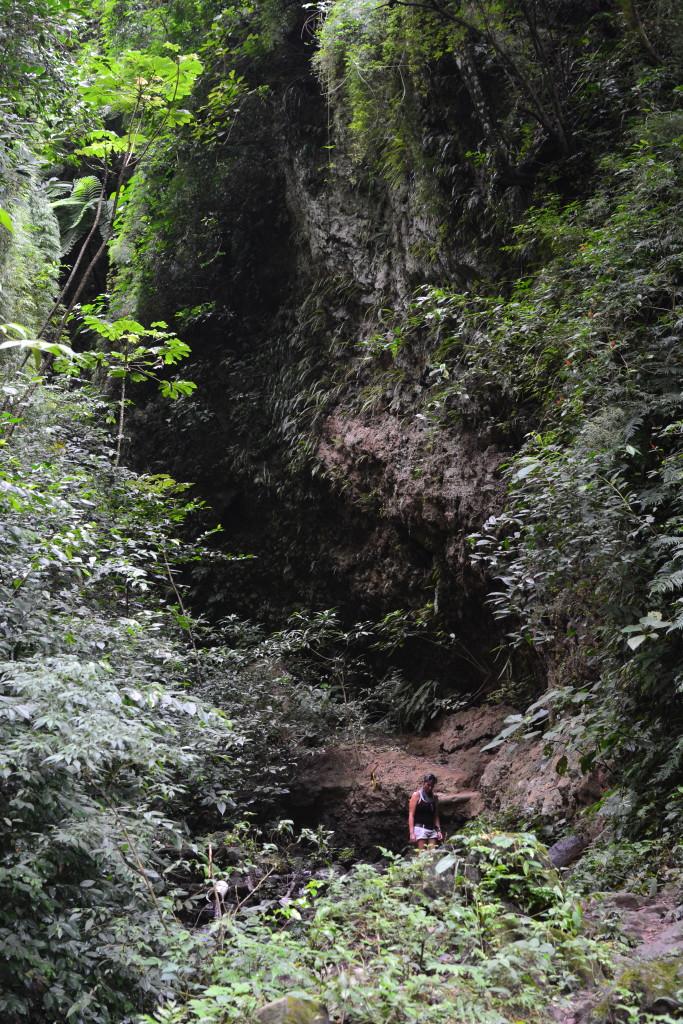Wanderung zum Wasserfall am Maderas