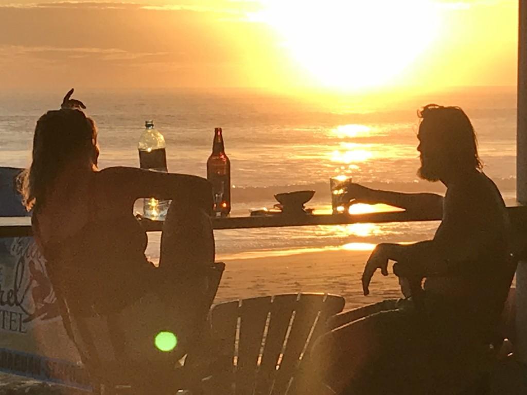 Sonnenuntergang in Popoyo genießen