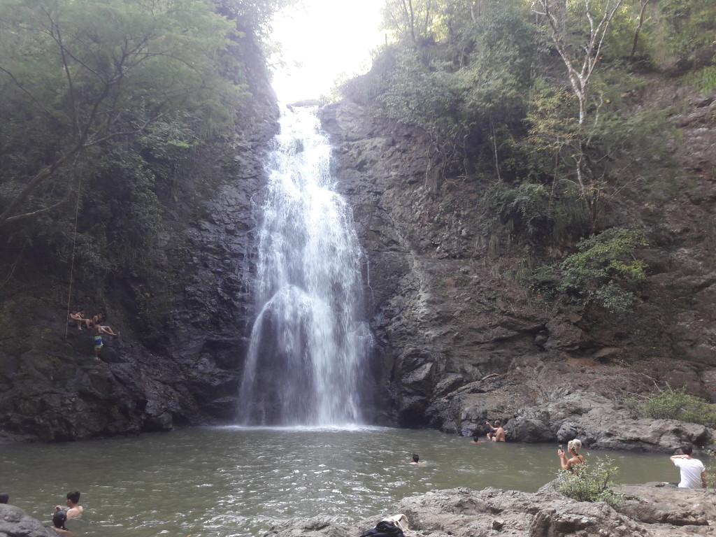 Wasserfall in Montezuma