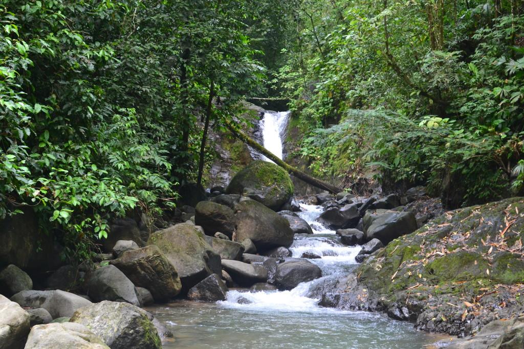 Wasserfall in Uvita