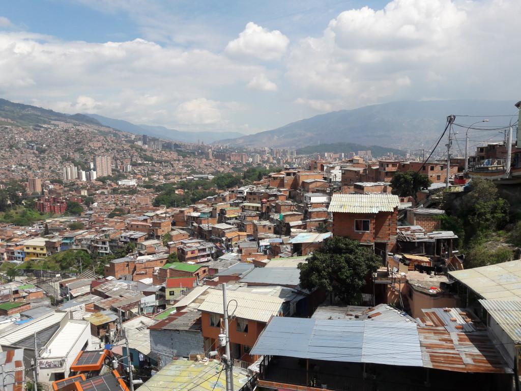 Ausblick von der Comuna 13
