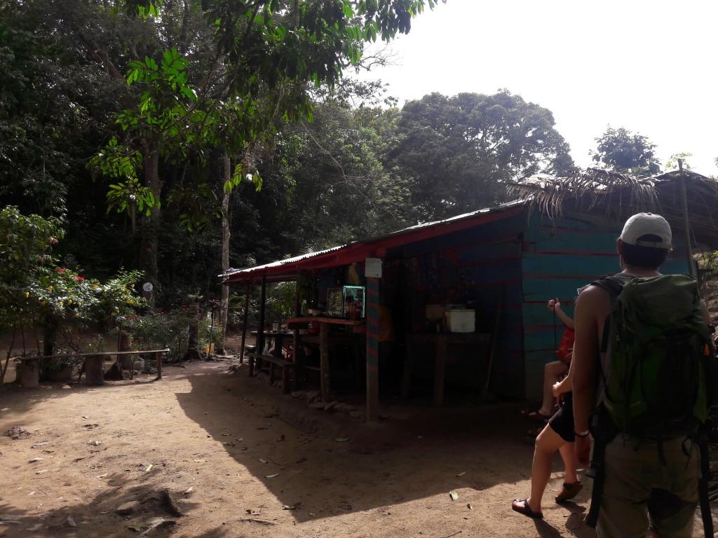 Rast im Tayrona Park
