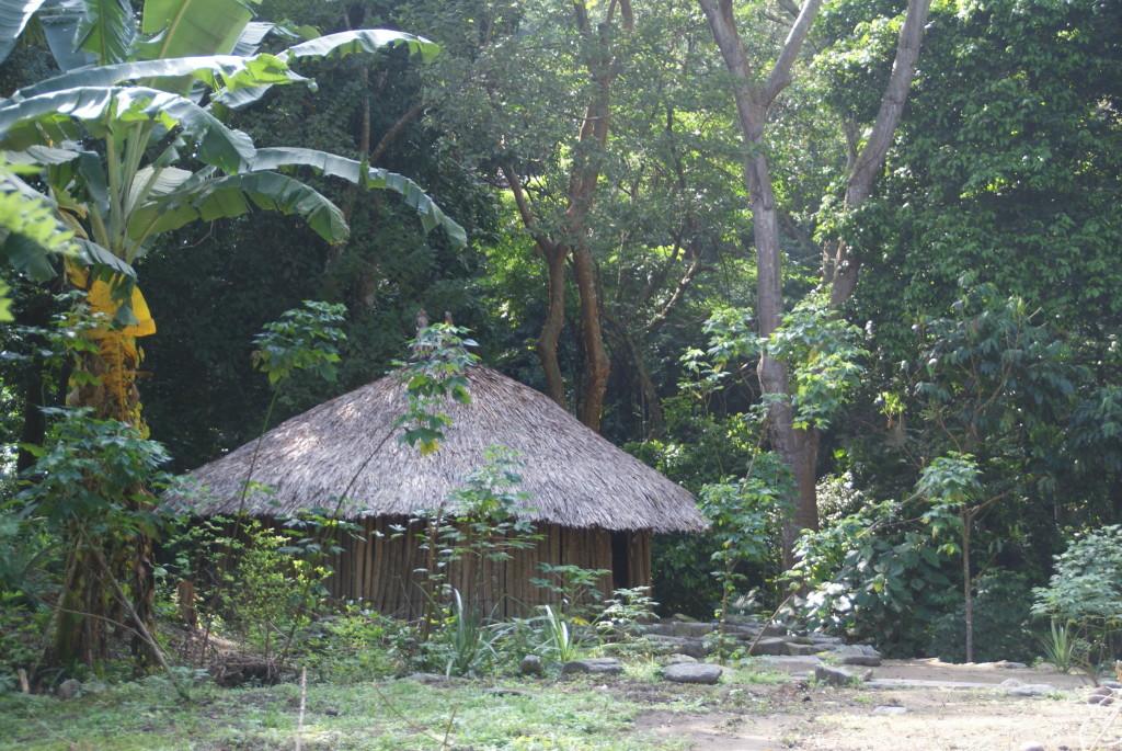 Hütten der Einheimischen im Tayrona Park