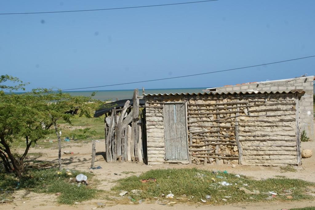Hütten der Wayuus
