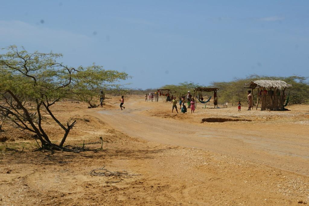 Straßensperre der Wayuus