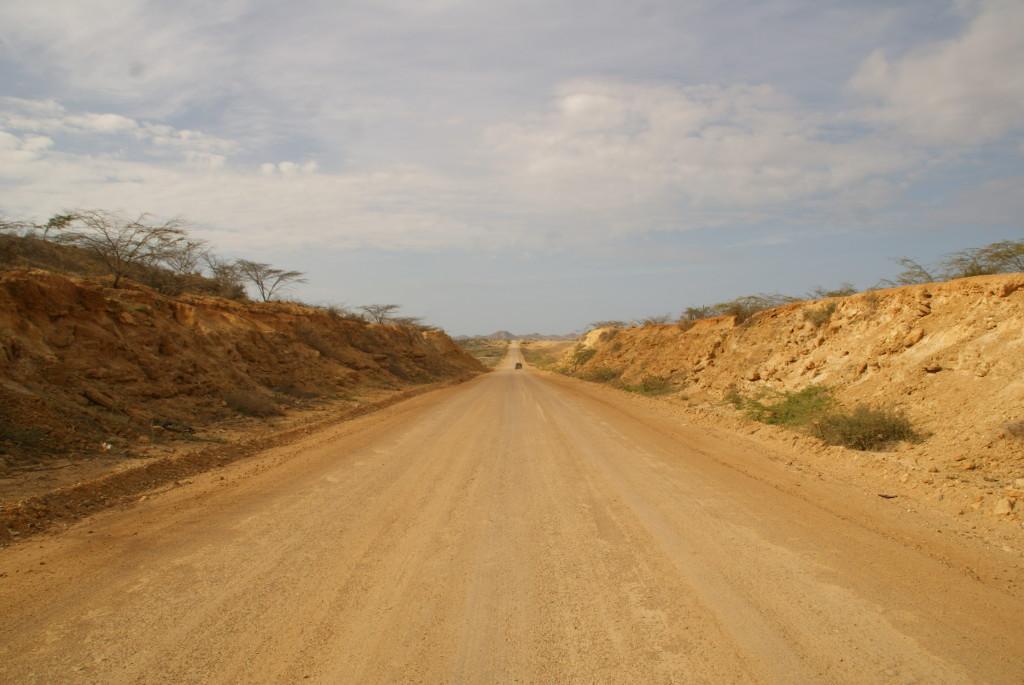 Fahren durch die Wüste