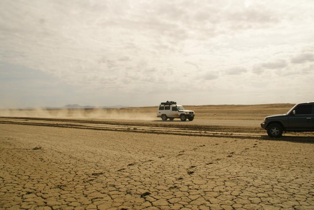 2. Tag durch die Wüste