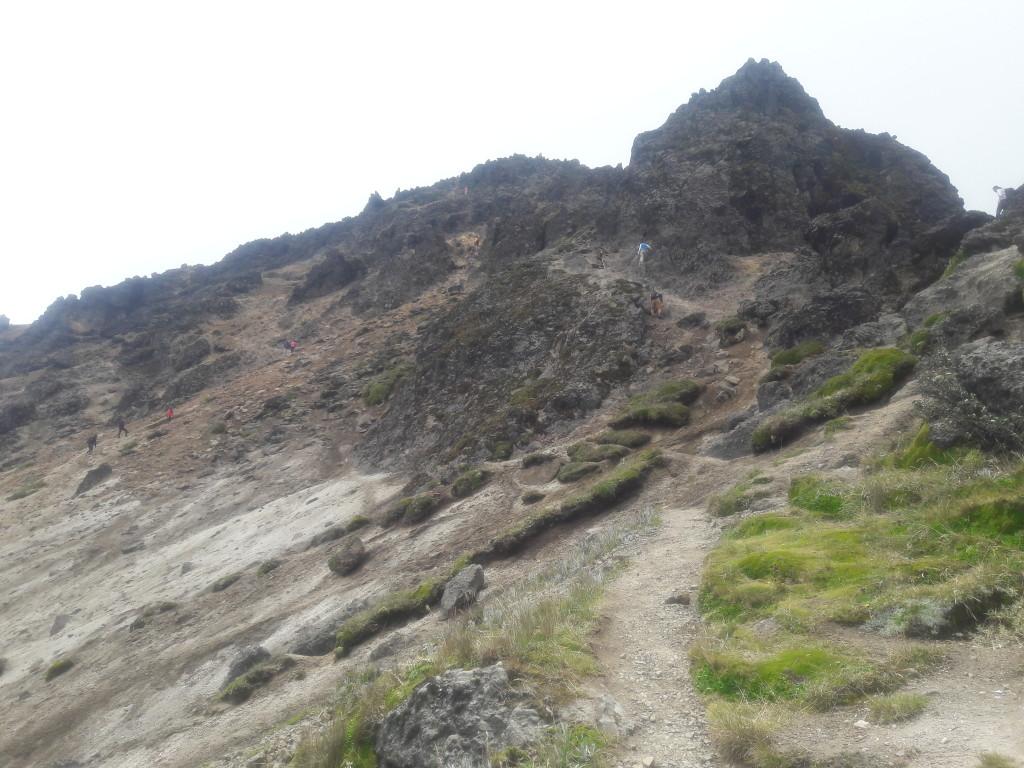 Das letzte Stück: Klettern